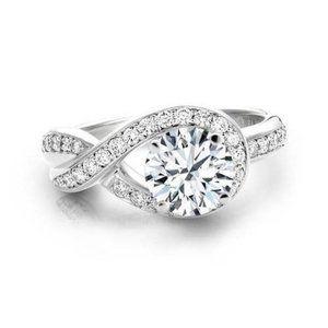 Jewelry - 3.50 ct ladies anniversary ring round cut diamonds